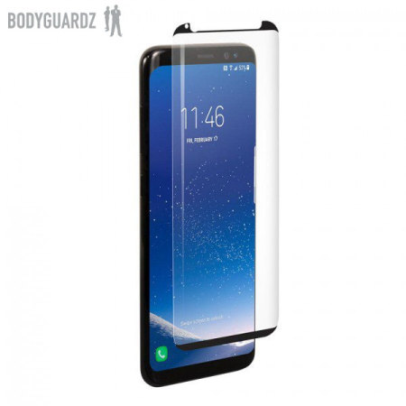BodyGuardz Arc Glass Samsung Galaxy S8 Plus Screen Protector