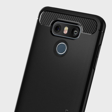 Spigen Rugged Armor LG G6 Tough Case - Black