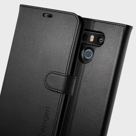 low priced 1f38b be97a Spigen Wallet S LG G6 Case - Black