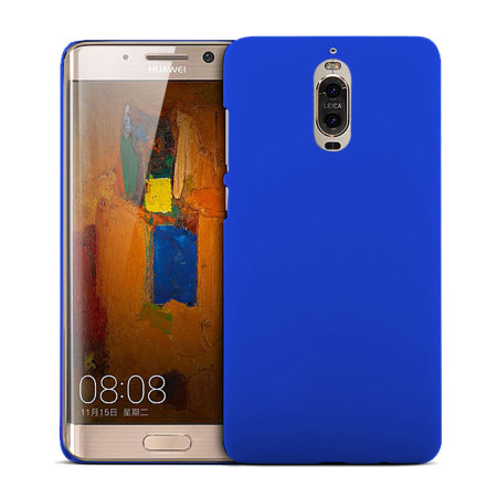 Huawei Mate 9 Pro Rubberised Back Hard Case - Blue
