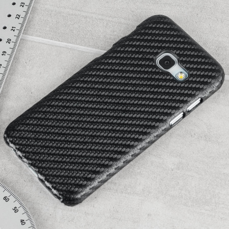 Samsung Galaxy A3 2017 Carbon Fibre Case - Black