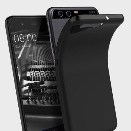 Olixar FlexiShield Huawei P10 Gel Case - Solid Black