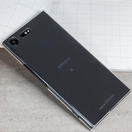 Roxfit Urban Sony Xperia XZ Premium Anti Scratch Shell Case - Clear
