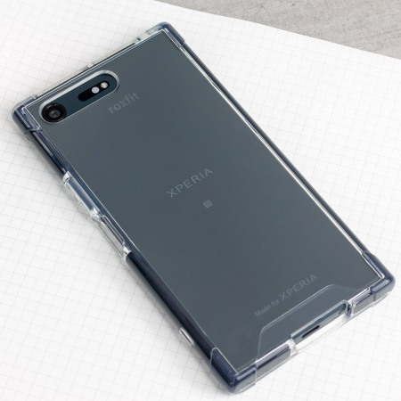 factory authentic c9fca b0f73 Roxfit Sony Xperia XZ Premium Pro Impact Gel Shell Case - Clear/Black