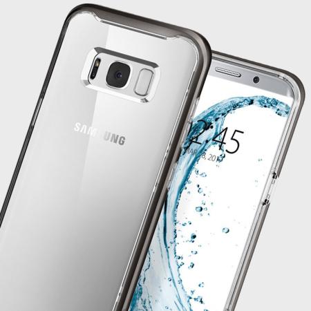 0b9caa730e4 Spigen Neo Hybrid Crystal Samsung Galaxy S8 Plus Case - Gunmetal