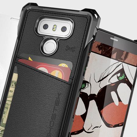 Ghostek Exec Series LG G6 Wallet Case - Black