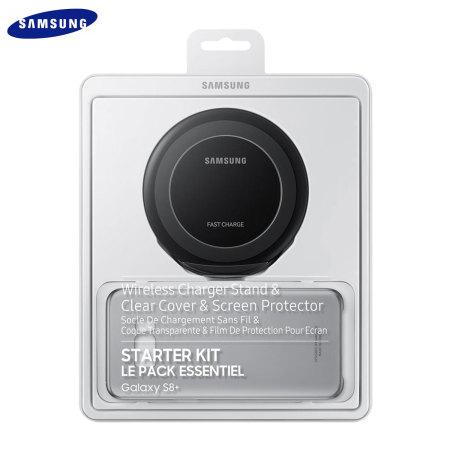 who flash custom official samsung galaxy s8 plus wireless charging starter kit black