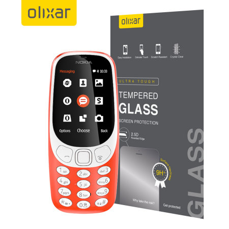 Olixar Nokia 3310 2017 Tempered Glass Screen Protector