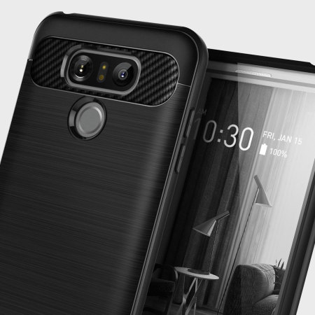 Caseology Vault Series LG G6 Case - Matte Black