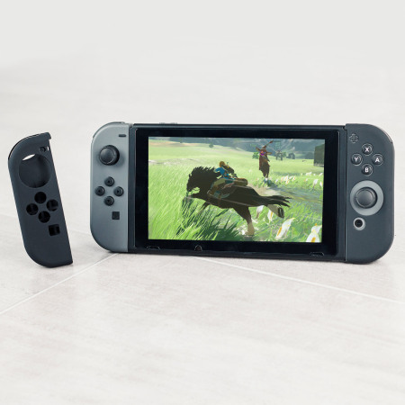 Nintendo Switch Joy-Con Controller Protective Silicone Cover - Black