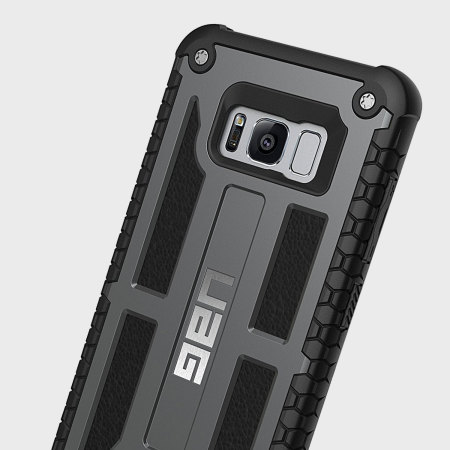 UAG Monarch Premium Samsung Galaxy S8 Plus Protective Case - Graphite
