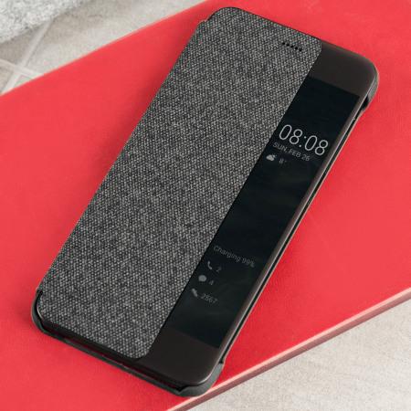 original huawei p10 smart view flip case tasche in. Black Bedroom Furniture Sets. Home Design Ideas