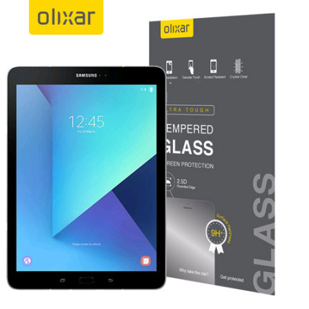 Olixar Samsung Galaxy Tab S3 Tempered Glass Screen Protector
