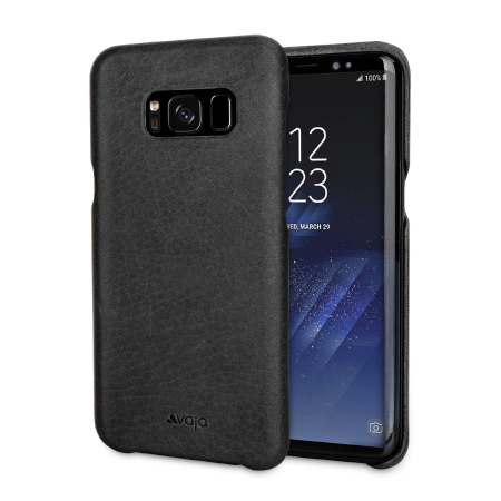 housse samsung galaxy s8 plus vaja grip cuir premium noire avis. Black Bedroom Furniture Sets. Home Design Ideas