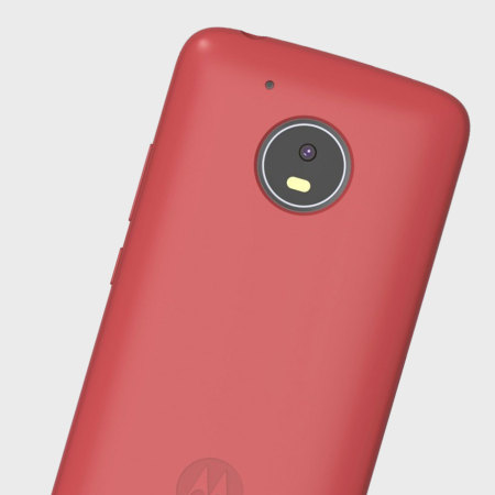 new product 00f60 43c74 Official Motorola Moto G5 Plus Silicone Cover Case - Red