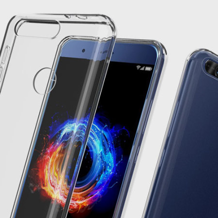 Olixar Ultra-Thin Huawei Honor 8 Pro Gel Case - Crystal Clear