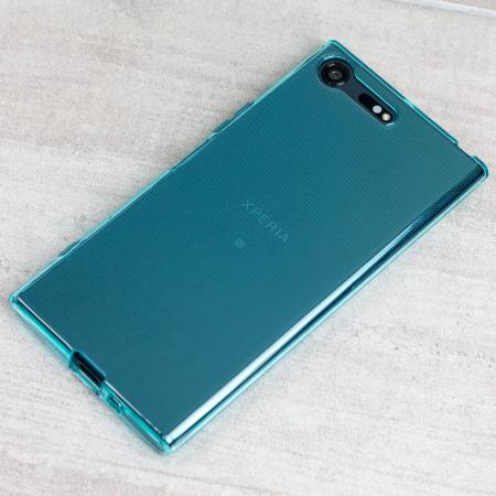 Olixar FlexiShield Sony Xperia XZ Premium Gel Case - Blue