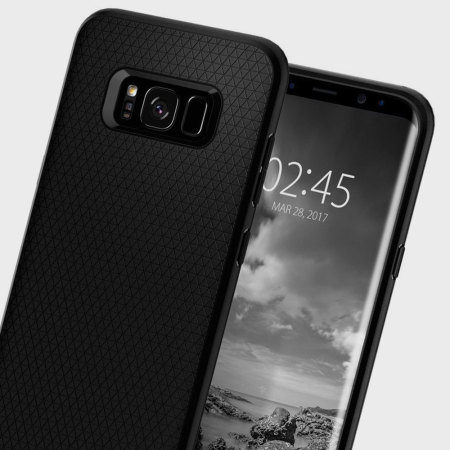 e69fb8d7a78af Funda Samsung Galaxy S8 Plus Spigen Liquid Air - Negra