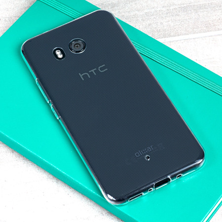 Olixar Ultra-Thin HTC U11 Gel Case - 100% Clear