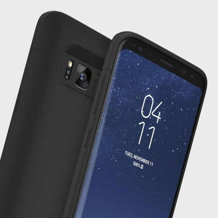 quality design 57957 d0d50 Mophie Juice Pack Samsung Galaxy S8 Plus Wireless Battery Case - Black