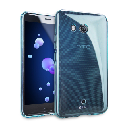 FlexiShield HTC U 11 Gel Hülle in Blau