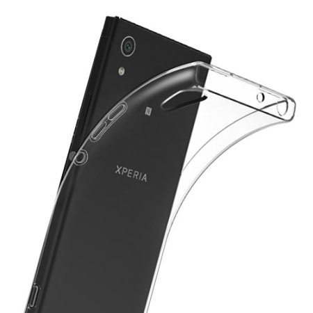 sony xperia l1. olixar ultra-thin sony xperia l1 gel case - 100% clear