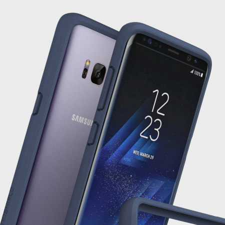bumper samsung galaxy s8 plus rhinoshield crashguard bleu sombre avis. Black Bedroom Furniture Sets. Home Design Ideas