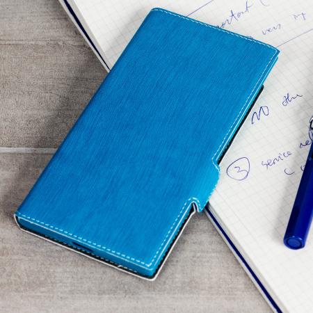 Olixar Low Profile Sony Xperia XZ Premium Wallet Case - Blue