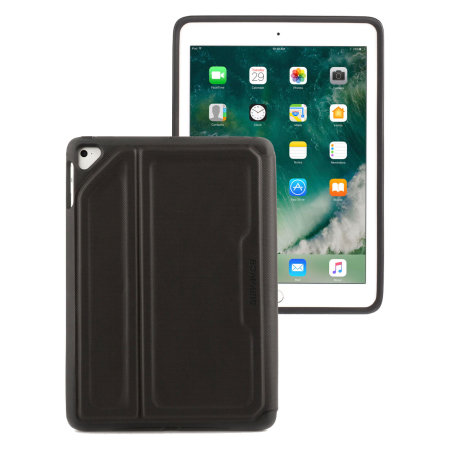 Griffin Survivor Rugged iPad 2017 Folio Case - Black