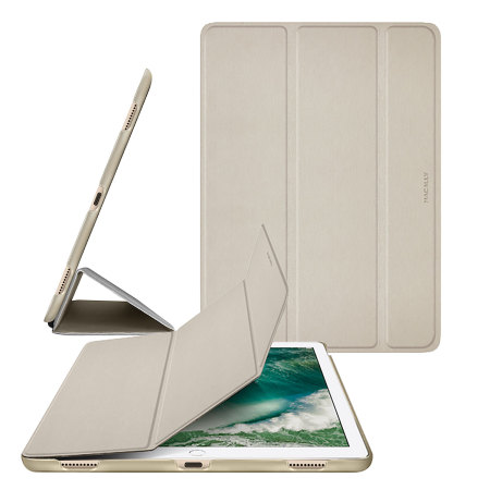 Macally BookStand iPad Pro 12.9 2017 Smart Case - Gold