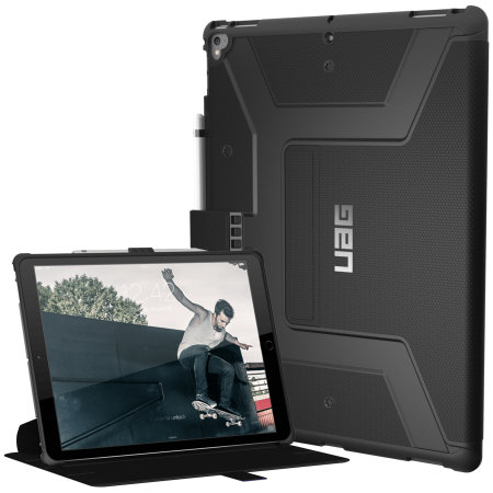 UAG Metropolis Rugged iPad Pro 12.9 2017 Folio Case - Black