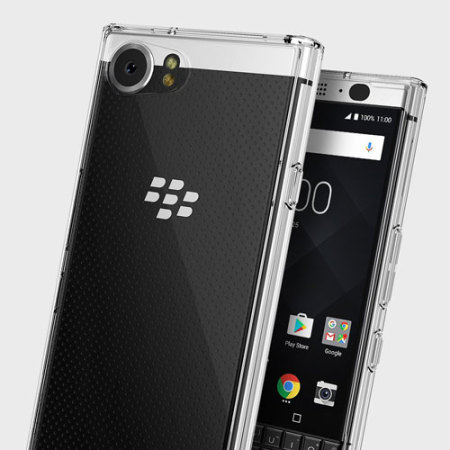 Rearth Ringke Fusion BlackBerry KEYone Case - Helder