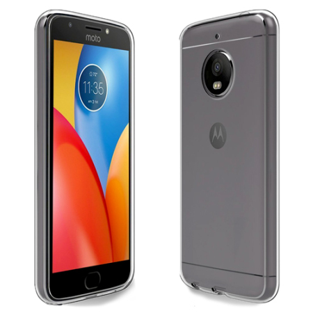 on sale 33361 1295e Official Motorola Moto E4 Plus Gel Case - Clear