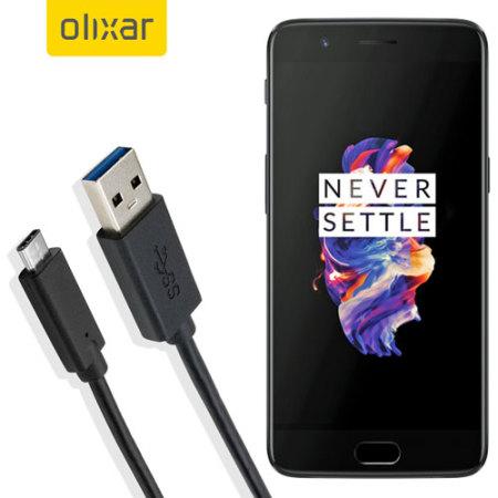 Olixar USB-C OnePlus 5 Laddningskabel