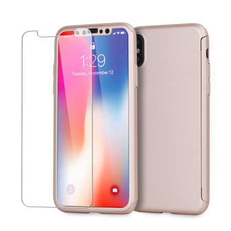 coque apple iphone x rose