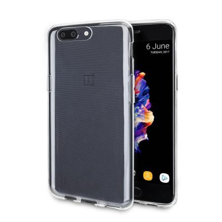 Olixar FlexiShield OnePlus 5 Gelskal - 100% Klar