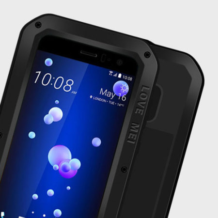 Love Mei Powerful HTC U11 Skyddskal - Svart