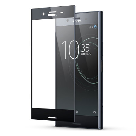 Olixar Sony Xperia XZ Premium Full Cover Glass Screen Protector -Black