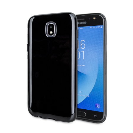 Olixar FlexiShield Samsung Galaxy J5 2017 Gel Case - Solid Black