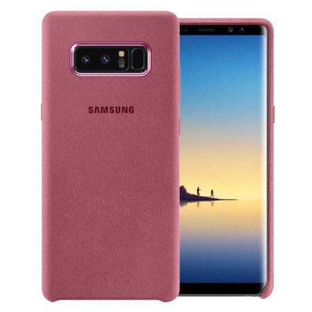 best website e7957 12d64 Official Samsung Galaxy Note 8 Alcantara Cover Case - Pink