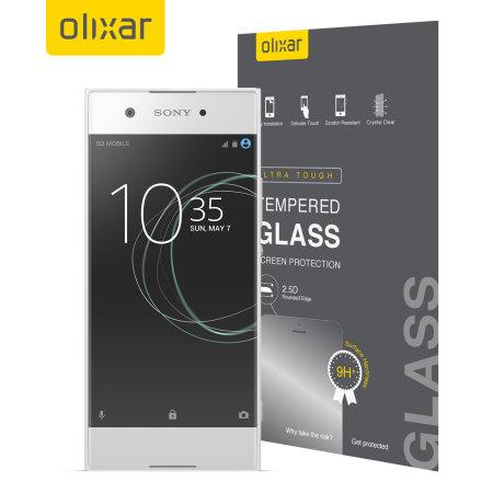 Olixar Sony Xperia XA1 Tempered Glass Screen Protector