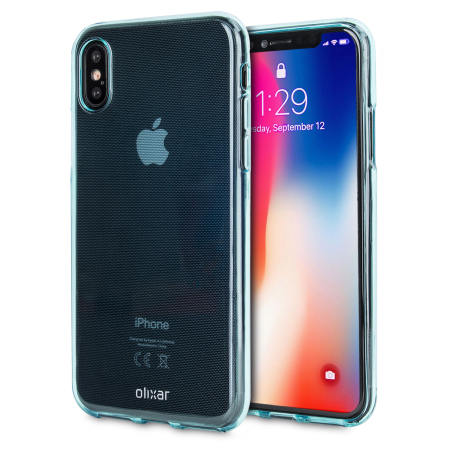 olixar flexishield iphone x gel case - blue reviews