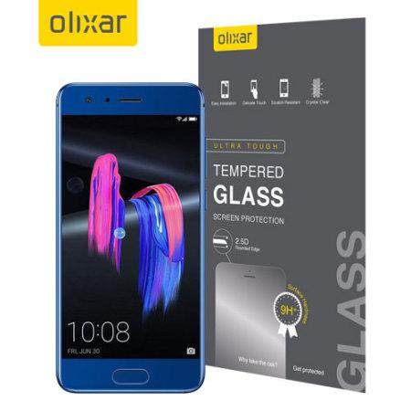 Olixar Huawei Honor 9 Tempered Glass Skärmskydd