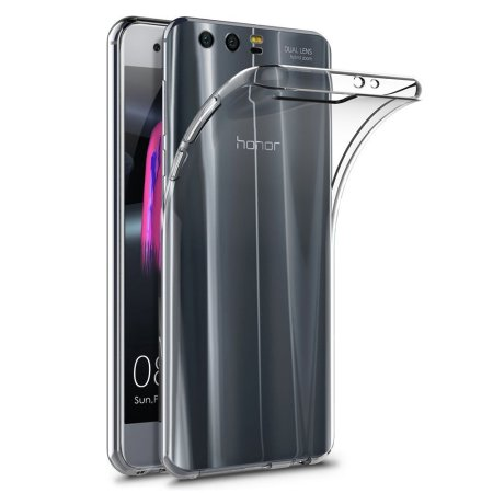brand new 0565a d1694 Olixar Ultra-Thin Huawei Honor 9 Gel Case - Crystal Clear