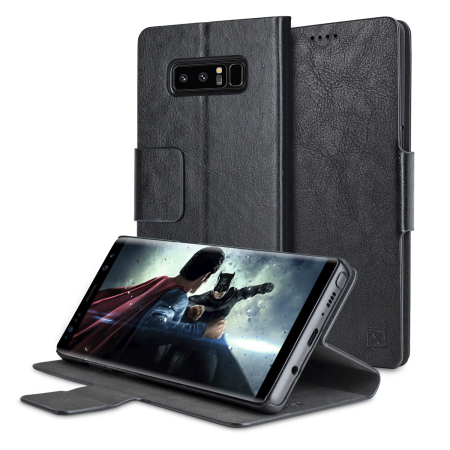 Housse samsung galaxy note 8 olixar simili cuir avec for Housse galaxy note 8
