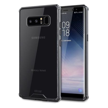 Samsung Galaxy Note 8 Tough Case - Olixar ExoShield ExoShield Black