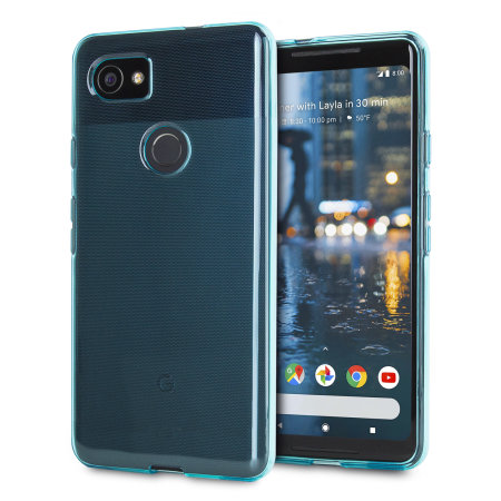 Olixar FlexiShield Google Pixel XL 2 Gel Case - Blue
