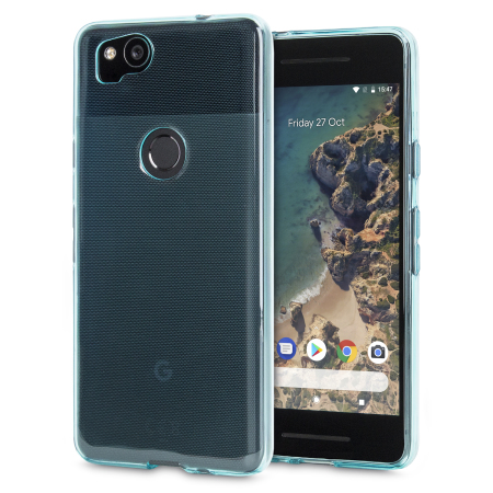 Olixar FlexiShield Google Pixel 2 Gel Case - Blue