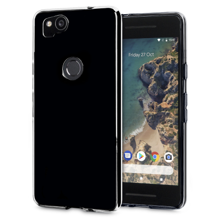 Olixar FlexiShield Google Pixel 2 Gel Case - Black
