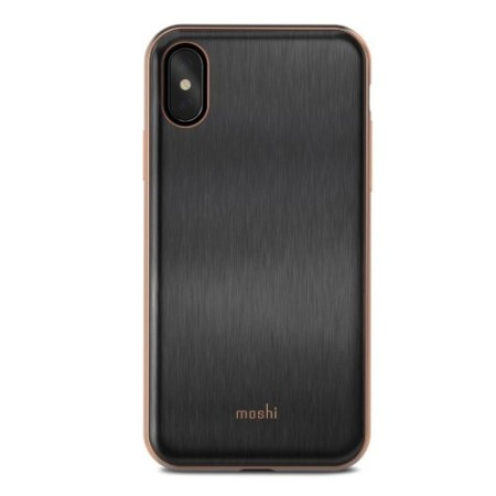 separation shoes 13565 320eb Moshi iGlaze iPhone X Ultra Slim Case - Armour Black